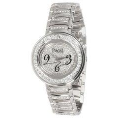 Piaget Possession GOA30086 Women's Watch in 18 Karat White Gold