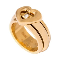 Piaget Possession Heart Yellow Gold Diamond Band Ring