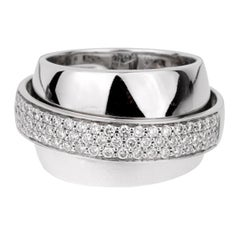 Piaget Possession Pave Diamond White Gold Ring
