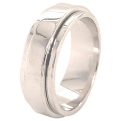 Piaget Possession Wedding Band 18 Karat White Gold