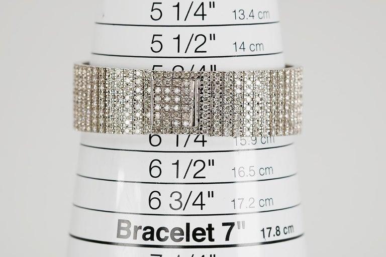 Piaget Protocole 18 Karat White Gold and Diamond Ref 9150, circa 1980 For Sale 4