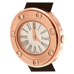 Piaget Silver Dial 18K Rose Gold  Possession Women's Wristwatch 29 mm