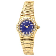 Piaget Tanagra 16033 M 401D, Blue Dial, Certified and Warranty