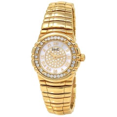 Piaget Tanagra 16033 M 401D, Mother of Pearl Dial, Certified