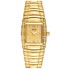 Piaget Tanagra 18 Karat Yellow Gold Mechanical Ladies Watch M411