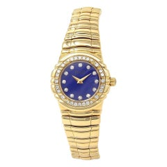 Piaget Tanagra 18 Karat Yellow Gold Quartz Women's Watch 16033 M 401 D