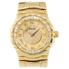 Piaget Tanagra Dial Diamond Bezel Watch 18 Karat in Stock