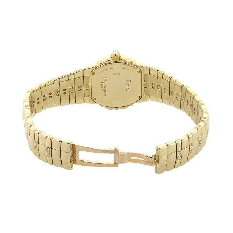 Women's Piaget Tanagra Diamond Bezel Ladies Watch For Sale
