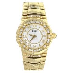 Piaget Tanagra Diamond Bezel Ladies Watch