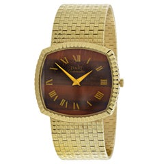 Piaget Tigers Eye Men's Wristwatch, circa 1980