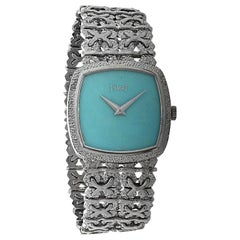 Piaget Turquoise Dial Ladies Watch