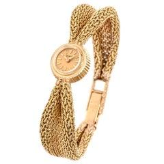 Piaget Vintage 18 Karat Yellow Gold Mechanical Back Winder Watch