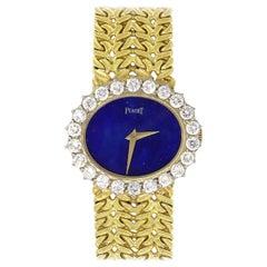 Piaget Vintage Blue Dial Ladies Watch
