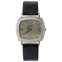 Piaget Vintage Dress 13434 A6, Silver Dial, Certified and Warranty