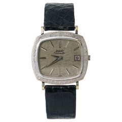 Piaget Vintage Dress 13434 A6, White Dial, Certified and Warranty