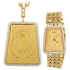Piaget Vintage Hiriji Watch and Necklace Set