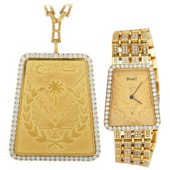 Piaget Vintage Hiriji Watch and Necklace Set