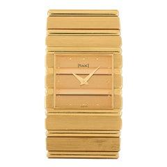 Piaget Vintage Polo 18K Yellow Gold Quartz Watch 7131-C701