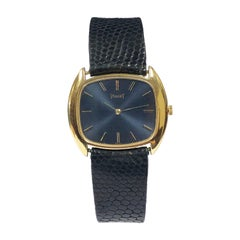Piaget Vintage Yellow Gold Mechanical Wrist Watch