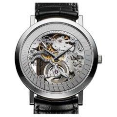 Piaget White Gold Altiplano Skeleton G0A33115 Manual-Wind Wristwatch