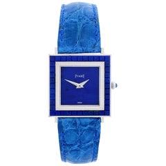 Piaget White Gold Lapis Lazuli Dial Watch