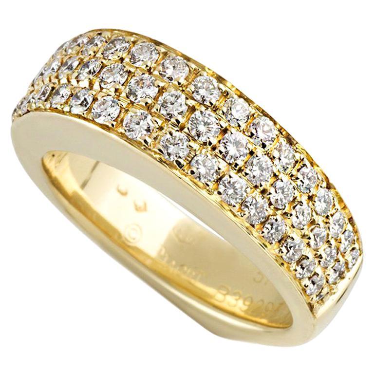 Piaget Yellow Gold Diamond Dress Band Ring 1.50 Carat