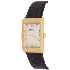 Piaget Yellow Gold Manual Wind Wristwatch Ref 9952