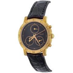 Piaget Yellow Gold Midsize Chronograph Quartz Wristwatch