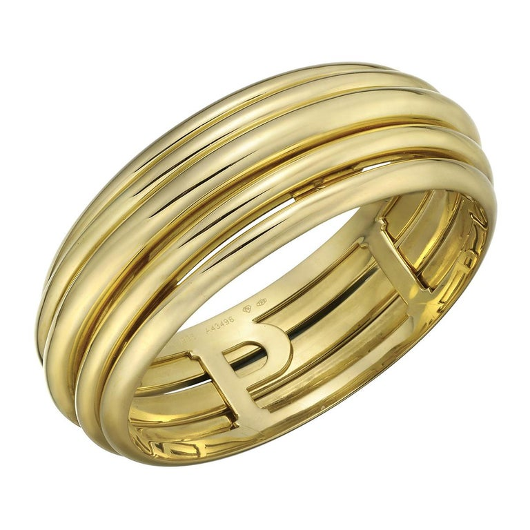 "Piaget Yellow Gold ""Possession"" Bangle Bracelet For Sale"