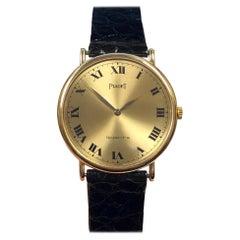 Piaget Yellow Gold Quartz Dress Wristwatch