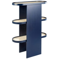 Piani Bookshelf Steel blue, by Patricia Urquiola for Editions Milano