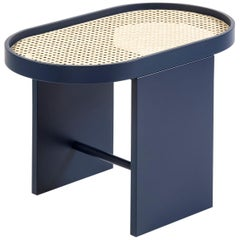 Piani Side Table Steel Blue, by Patricia Urquiola for Editions Milano