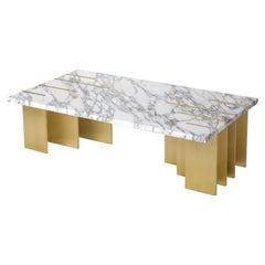 Pianist Coffee Table, Calacata Marble, InsidherLand by Joana Santos Barbosa
