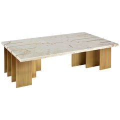 Pianist Coffee Table, Estremoz Marble, InsidherLand by Joana Santos Barbosa