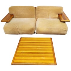 Pianura Sofa Set by Mario Bellini for Cassina