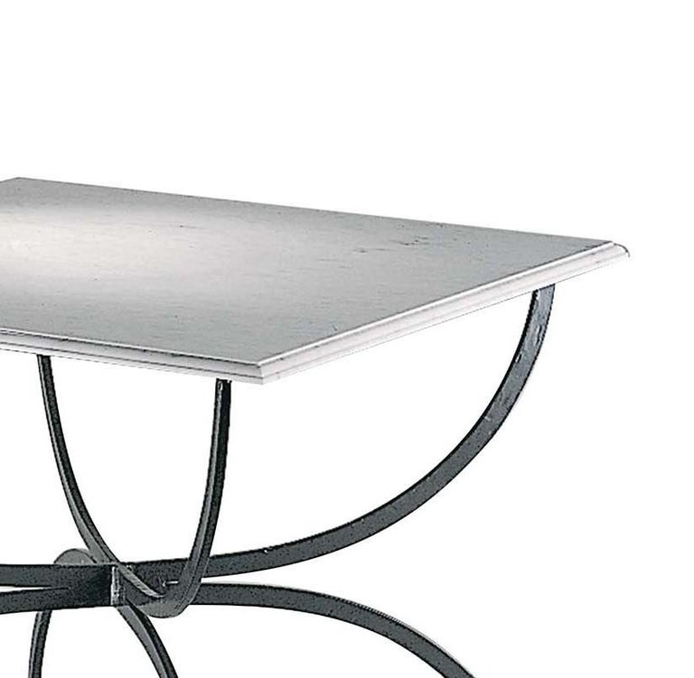 Italian Piazza Outdoor Table by Officina Ciani For Sale