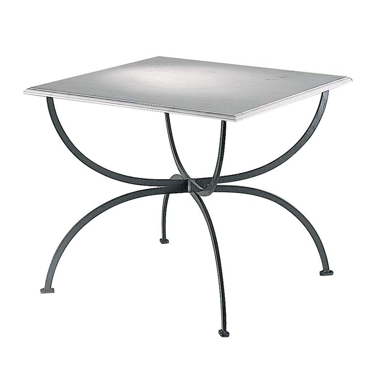 Piazza Outdoor Table by Officina Ciani For Sale