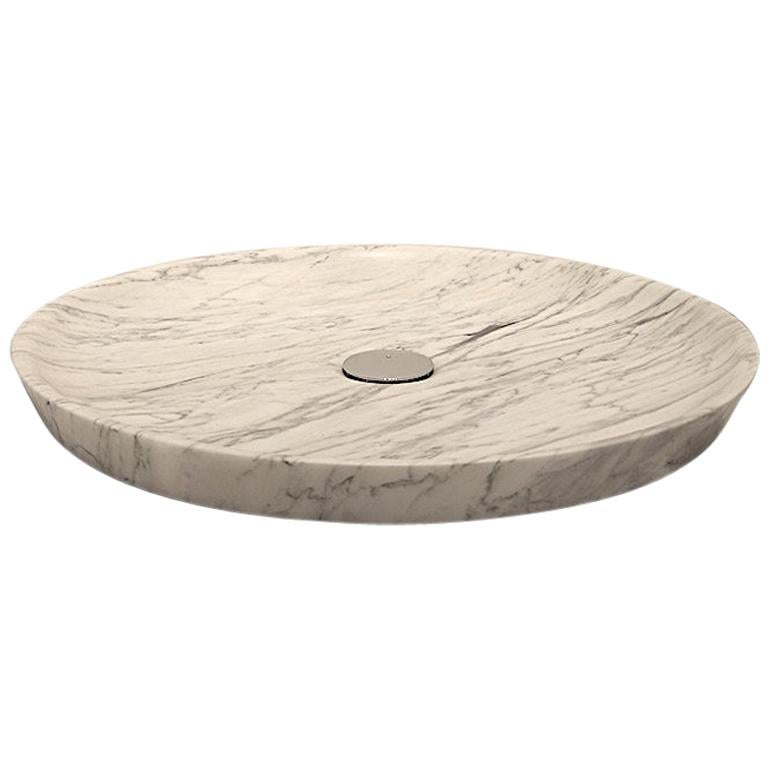 """Plano"" Shower Tray Made of Marble Customizable For Sale"