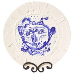 Picasso Centaur Charger, Hand-Decorated Madoura 1956 Limited Edition of 37/100