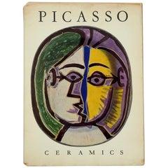 Picasso Ceramics Book 1st English Language, Edition, 1950