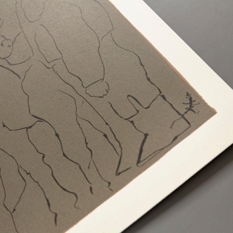 Picasso Drawing Lithography For Sale 2
