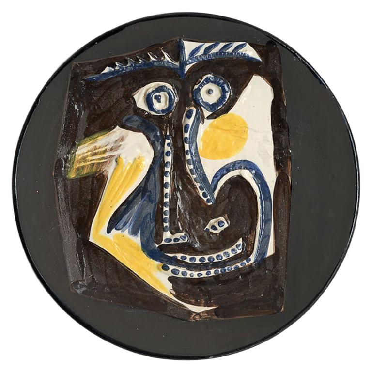 "Picasso Edition Madoura Ceramic Dish ""Face"", 1960"