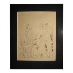 Picasso-Radierung