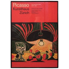 Picasso Exhibition Poster 1968