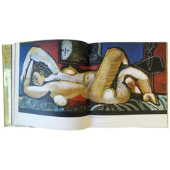 Picasso FELICIE Gold Coffee Table or Library Book, circa 1970s
