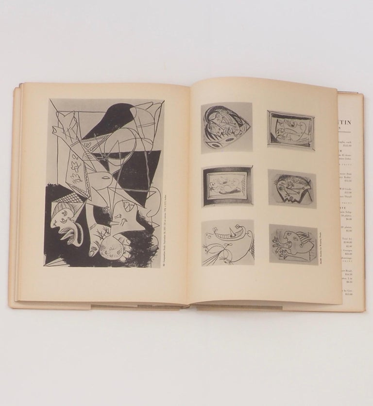 Picasso, Guernica, First Edition Book 1947 For Sale 1