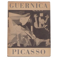 Picasso, Guernica, First Edition Book 1947