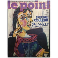 Picasso 'Le Point' Original Vintage Poster- Pablo Picasso Le Point Magazine