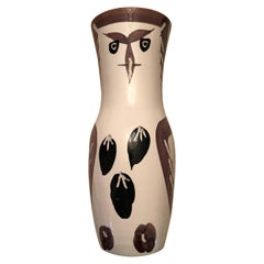 """Picasso Original Ceramic Vase """"Choutton"""""""