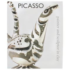 Picasso, Painter and Sculptor in Clay, First Edition Exhibition Catalogue